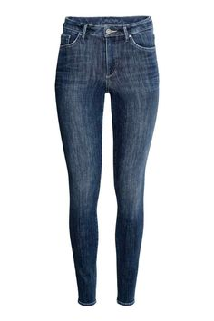 360° Shaping Skinny High Jeans - Denimblauw - DAMES | H&M BE 1
