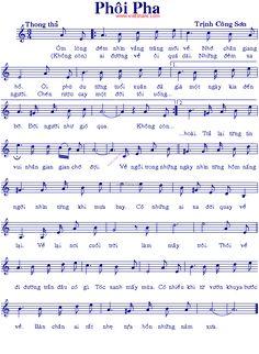 Phôi Pha - Music Sheet