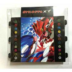 Pokemon 2015 CP#1 Double Crisis Magma Vs. Aqua Groudon Kyogre Zangoose & Friends Fold Up Deck Box With 5 Energy Cards