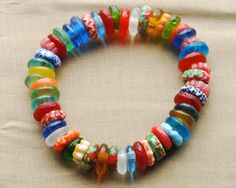 Our jewellery features ethically sourced materials including beads from many countries in Africa. Recycled Glass, Fair Trade, Beaded Bracelets, Beads, Big, Color, Jewelry, Beading, Jewlery