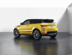 2013 Land Rover Range Rover Evoque Sicilian Yellow