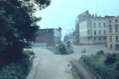 Rostock, DDR, Grubenstraße, Dampflok, 60er, Foto Walter Weidemann