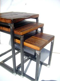O'Neil nesting tables set of 3 by Nyendesigns on Etsy, $525.00