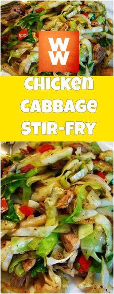 Chicken+Cabbage+Stir-Fry