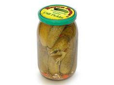 Der Frosch im Gurkenglas ist eine als Hoax verbreitete Fotomontage. (Quelle: worth1000.com)
