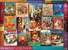 White Mountain Puzzles is famous for our piece jigsaw puzzles. Our puzzles are made of premium blue chipboard with large pieces that interlock well enough to pick up from corners and still stay together. The finished size is - the largest in the industry. Twelve Days Of Christmas, Christmas Books, Before Christmas, Merry Christmas, Dickens Christmas Carol, Best Jigsaw, Frosty The Snowmen, Betty Crocker, Toys Shop