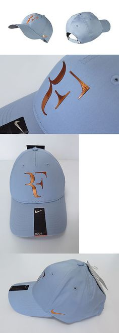 96cd4172c97 Hats and Headwear 159160  New Nike Rf Roger Federer Hat Cap 835536-449 Blue  Grey Flint Grey Bright Citrus BUY IT NOW ONLY   35.0