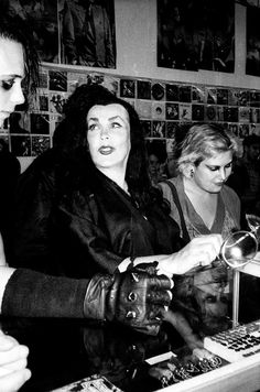 Vampira meets The Misfits in 1982