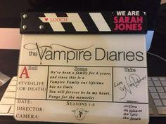 Nina Dobrev's personal message to The Vampire Diaries Family. 4-15-2015
