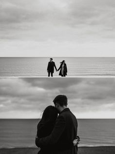 Anna and Tom's moody black and white Brighton beach engagement shoot Couple Photoshoot Poses, Couple Portraits, Couple Shoot, Photos Black And White, Black And White Couples, Pre Wedding Poses, Pre Wedding Photoshoot, Wedding Ceremony, Romantic Photography