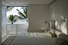 """""""Casa Iporanga in Brazil by Isay Weinfeld."""" looks like the perfect spot to nap."""