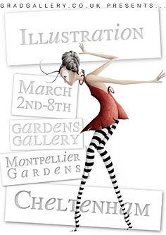Lucy Boden Illustration: Illustration Exhibition: 2nd - 8th March