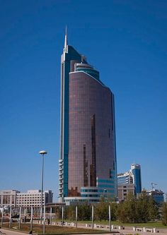 The Cigarette Lighter Building - Astana, Kazakhstan
