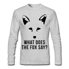 What Does The Fox Say? Men's T-Shirt | Spreadshirt | ID: 13426890