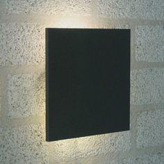 Square muurlamp