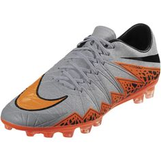 brand new eaf82 a3623 Nike Hypervenom Phinish II AG-R (Gray Total Orange)
