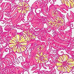 Lilly Pulitzer - Shop Prints (84 CAD) ❤ liked on Polyvore featuring backgrounds, - backgrounds and patterns