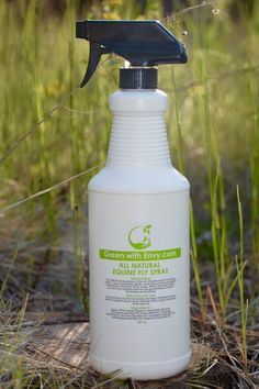 All Natural Equine Fly Spray--The GWE Equine Fly Spray is the all-natural solution to pesky insects. Flies, mosquitoes, gnats, and other insects are rapidly deterred by the scent of our spray. While they may hate it, you and your equine partner are guaranteed to love it! For horses and humans. 32 oz bottle with sprayer.