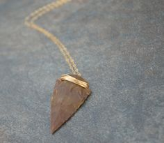 Arrow Head Necklace Arrowhead Necklace Native by GypsySolDesigns, $36.00