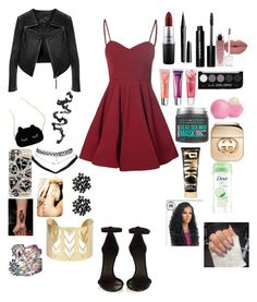 """""""Valentines ❤️☺️"""" by jailakohn2003 ❤ liked on Polyvore featuring Glamorous, Linea Pelle, Isabel Marant, WithChic, Wet Seal, Casetify, MAC Cosmetics, Marc Jacobs, Bobbi Brown Cosmetics and Maybelline"""