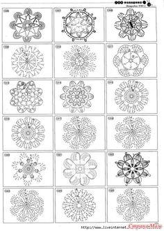 Волшебство бумаги: Как я это делаю. Вязанные крючком цветочки в скрап работах.