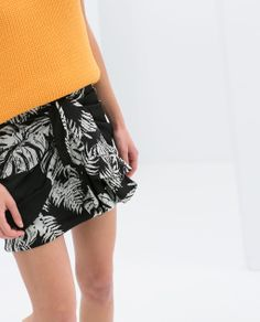 Image 6 of SCARF SKIRT from Zara