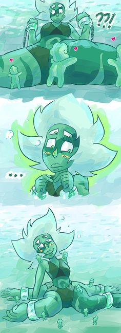 friends find malachite, malachite finds peace inspired by @cldrawsthings 's art of mama malachite & her watermelon...