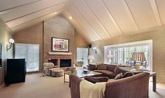 Poplar coffered ceiling ceiling design google and great for Difference between vaulted and cathedral ceiling