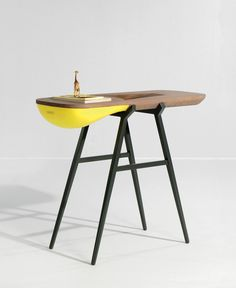 Balka Console  Modern and Fresh Furniture Piece by Gregoire de Lafforest
