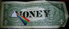 Dollar bill - Pink Floyd