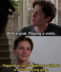 """Things are good. Anna may be a movie star, but she's finding some much needed normalcy with William. Here's The Beautiful Detail In """"Notting Hill"""" You Probably Missed Iconic Movies, Classic Movies, Great Movies, Romantic Movie Quotes, Romantic Comedy Movies, Comedy Movie Quotes, Cinema Quotes, Notting Hill Movie, Notting Hill Quotes"""