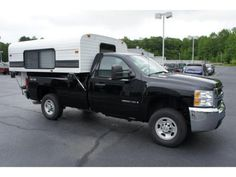 We recently took a pickup camper in on trade for a new Corvette here at 1st State Chevy. Never having seen a camper like this before we were very impressed. 'It goes up…it goes down&#82…
