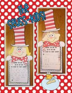 Dr. Seuss bulletin board classroom projects