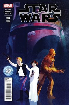 Marvel Star Wars 1 cover variant - Although I think Luke should be included, this is a very striking cover variant by Pascal Campion.
