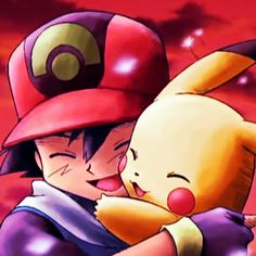 Beautiful <3 Ash and Pikachu ^.^ <3