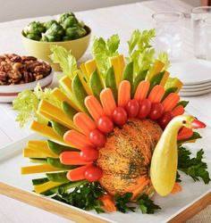 Edible Veggie Turkey                                                                                                                                                                                 More