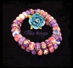 Elastic strap bracelet