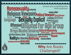 Why Are Books Challenged? #BannedBooksWeek