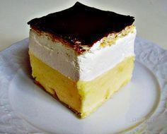 Francúzsky krémeš • recept • bonvivani.sk I Love Food, A Food, Food And Drink, Czech Recipes, Mini Cheesecakes, Culinary Arts, Sweet Recipes, Nutella, Delish
