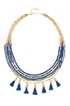Love this boho necklace for summer - can be worn multiple ways too!!