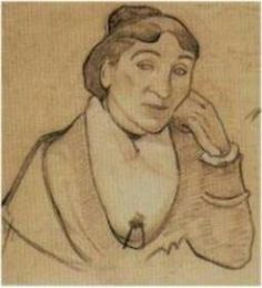 VAN GOGH - Portrait of Madame Ginoux