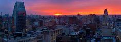 @ColeColdwater  Last night's #sunset was #fire. @EverythingNYC #NewYorkCity #NYC