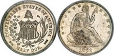 Confederate States Of America Coins: CSA Restrikes Bashlow, Scott, Haseltine