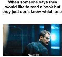OMG! I AGREE! But instead of showing people JUST the Divergent books i would introduce them to PERCY JACKSON!