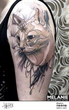 tattrx, melanie, inkyundstretchy, tattoos, illustration, tätowierungen, tätowieren
