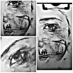 #tears ..#sketch #sketchoftheday #realistic #draw #drawing #drawings #art #artwork