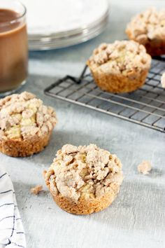Coffee Cake Muffins | Today We Bake