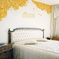 The Best and Most Rose with Butterfly Wall Decals– WallDecalMall.com