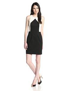 Trina Turk Women's Irvine Color-Block Ponte Dress only $128 (was $298) #trinaturk #colorblock #dress