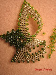 * Russian Leaves beading Tutorial